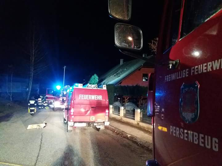 2018.01.07. Wohnhausbrand in Marbach (1)