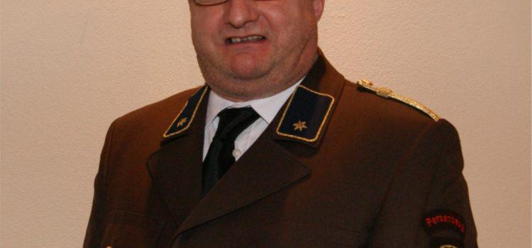 Dank und Anerkennung für OV Georg Neulinger