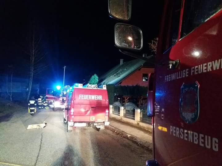 Wohnhausbrand in Marbach