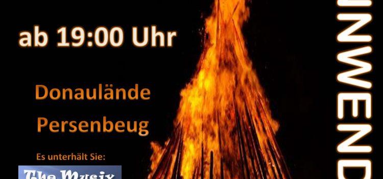 Sonnwendfeuer mit der FF-Persenbeug