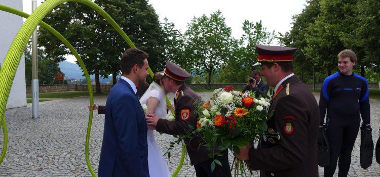 Hochzeit von Stefanie und OFM Marvin Stadler