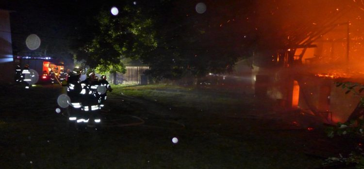 Brandeinsatz in St.Oswald