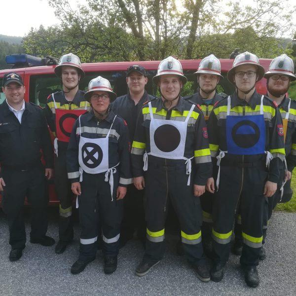 Abschnittsfeuerwehrleistungsbewerb in Dorfstetten