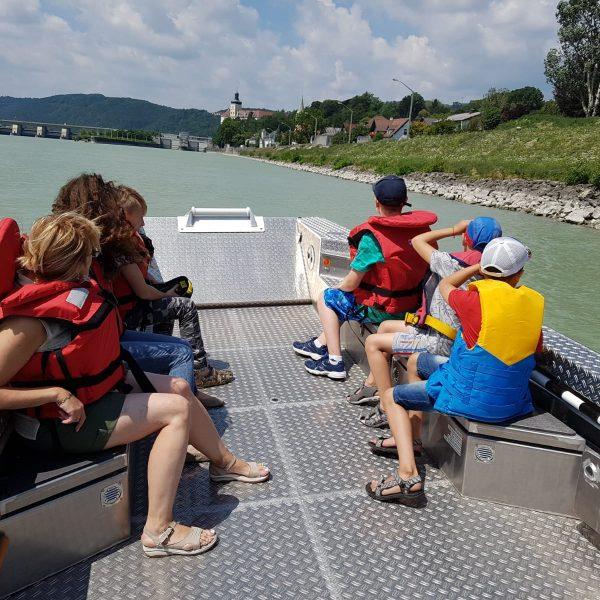 Unterwegs mit den Kindern aus der Ukraine