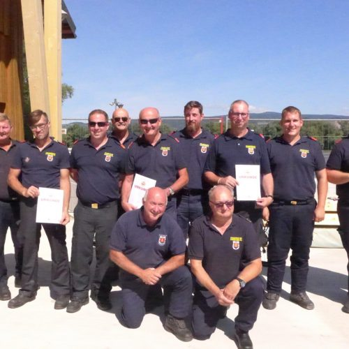 Ausbildungsprüfung Feuerwehrboot
